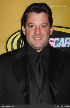 Tony Stewart, cleans up nice...........