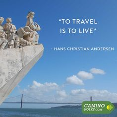 """""""To travel is to live"""" - Hans Christian Andersen #Wanderlust #TravelQuote"""