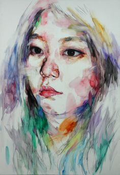 painting by KwangHo Shin, via Behance    Beautiful work; check out the full project on Behance.net