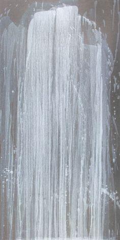 Pat Steir, Silver Waterfall