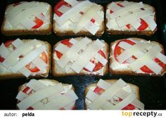 Toasty s rajčaty recept - TopRecepty. Feta, Toast, Pizza