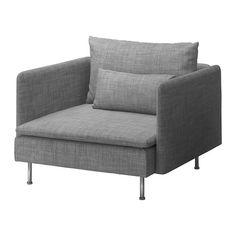 SÖDERHAMN Lepotuoli - Isunda harmaa - IKEA