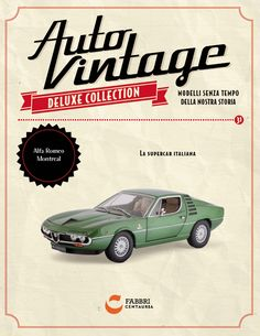 #AlfaRomeo Montreal  #Auto #Vintage Deluxe #Collection. http://bit.ly/autoVintage