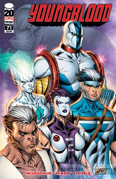 Liefeld Classic YOUNGBLOOD Returns in Exclusive Preview