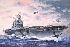 USS Enterprise CV-6.