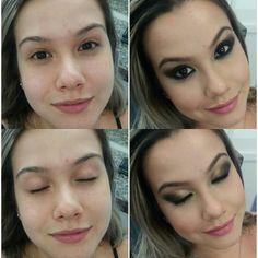 Boom diaa ! Maquiagem que fiz ontem na minha amiga @__jujumoura  !  O que vocês acharam?! #instabgs #aneehalves #maquiagemesfumada #maquiagem #diagonal #maquiagemnadiagonal #makeup #maquiadora #maquiadoraprofissional #embelleze