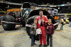 Rammunition is a Dodge Ram monster truck driven by Mat Dishman, and is the team truck to Raminator since 2002. Mat's older brother, Geremie Dishman, won Rammunition its first and only championship in 2006. History 2002- Rammunition debuts as part of the ProMT series., 2006- Rammunition debuts a new scheme., 2006- Geremie Dishman wins the Family Event Monster Truck Thunder Drags championship., 2010- Geremie retires, giving his brother Mat the full time ride., 2010- Rammunition debuts a ne...