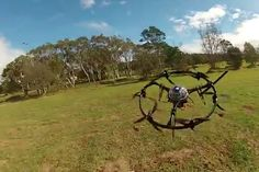 Surf Life Saving Australia will be deploying the Aerobot Ring, a co-axial hexacopter that carry cameras to keep an eye on the water, as well as life buoys to drop to those in distress