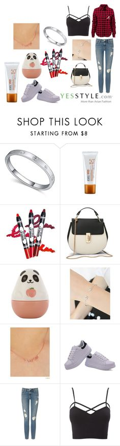 """""""My Fashion/Beauty Diary"""" by serenabravo on Polyvore featuring Etude House, soo n soo, Pinkrocket, Frame Denim, Charlotte Russe, Beauty, yesstyle, prefall and plus size clothing"""