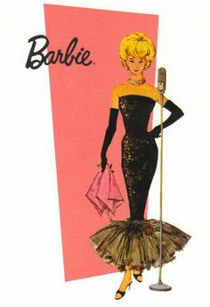 Barbie Barbie Barbie, was my VERY favorite doll and this was my favorite outfit.  Spent hours playing Barbie with friends!