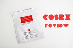 COSRX Acne pimple master patch review - gets rid of pimples quick