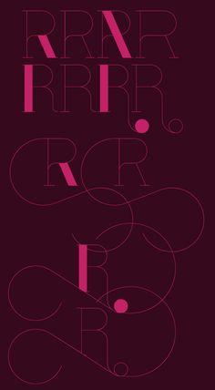 Port Typeface by Joao Oliveira, via Behance