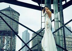Runaway Bride, Dream Wedding Dresses, Wedding Bells, Lace Wedding, Rooftop, Designer, One Shoulder Wedding Dress, Nyc, Lady