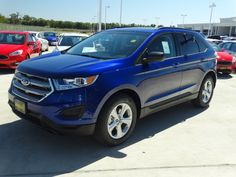 The 2015 Ford Edge for soccer moms who don't want a van!