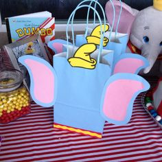 Dumbo birthday treat bags