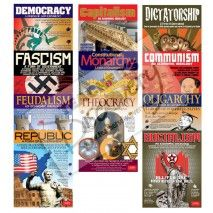 Forms Of Government 11 Poster Set - website has some other cool visuals for government and other social studies classes