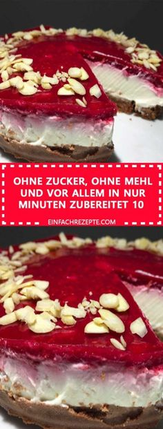 Ohne Zucker, ohne Mehl und vor allem in nur 10 Minuten zubereitet There is no need to force your wallet to make a diet or eat healthy. Easy to prepare, delicious taste, low calorie density and costly meals and food can be fed healthy and you can k Low Fat Cake, Types Of Pastry, Calories In Vegetables, Fall Crockpot Recipes, Sheet Cake Recipes, Eating Fast, Banana Chips, Postres, Food Cakes