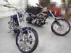 Couple Builds Custom Choppers | Motorcycles | Totally Rad Choppers