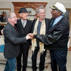 """Paul Simon, Leondard Cohen Keith Richards and Chuck Berry, is this what they mean by """"The Masters""""?"""