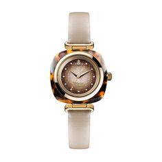 Vivienne Westwood Brown & Gold Beckton Watch