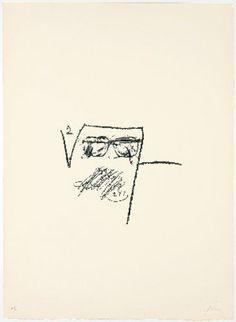 LLAMBREC-6, 1975  Antoni Tapies  Lithograph