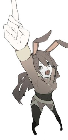 Velvet, turns out that she has the best weapon in RWBY