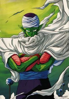 Piccolo from Dragon Ball Z was her first alien love ♡ And was her entrance into the fanfic world.