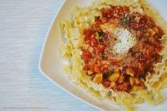 Schnelle Gemüse-Bolognese