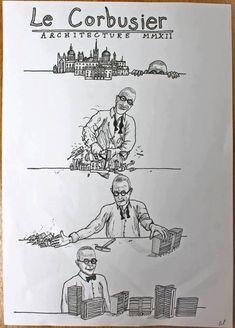 Le Corbusier era alguien levemente radical para sus cosas :)