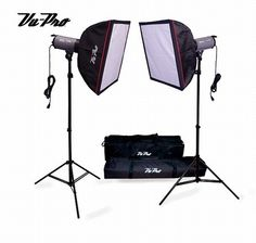 Photography Lighting Kits · Softbox Photography · 1 · FLASH OUTPUT ADJUSTMENT FROM 1/32 TO FULL POWER (2) V-  sc 1 st  Pinterest & Viper 3000 Triple 1000 Watt Boom Photo Lighting Kit-Continuous ...