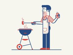 Red, White & Blue barbecue | Makers Company