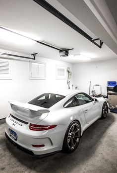 The Porsche 911 is a truly a race car you can drive on the street. It's distinctive Porsche styling is backed up by incredible race car performance. Ferrari, Maserati, Bugatti, Lamborghini, Porsche 911 Gt3, Porsche Autos, Porsche Sports Car, Porsche Cars, Audi