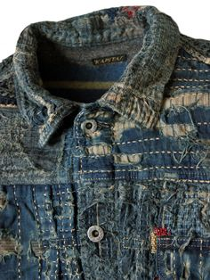 nativesarerestless:  Kapital: Boro Type-1 Jacket