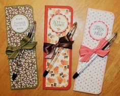 Paper Perfect Designs: Skinny Notepad Tutorial. Skinny notepads