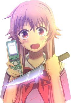 Yuno Gasai: WTF!? staup!