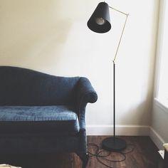 Bonnet d'âne No. 1F floor lamp / triple7recycled
