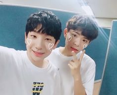 Woojin & Sakang [170714] (@the_greatest_woojin)