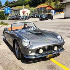 #Ferrari 25 GT California Spider #italiandesign
