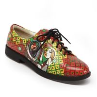 """""""Girl with a Mirror"""" Golf Shoe by Pablo Picasso"""
