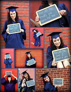 Creative Cap and Gown Pictures Graduation Look, Graduation Cap And Gown, College Graduation Photos, College Senior Pictures, Graduation Portraits, Graduation Photoshoot, Graduation Photography, Girl Senior Pictures, Grad Pics