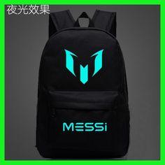 c423e1e45965 Logo Messi Backpack Bag Men Boys Barcelona Travel Bag Teenagers School Gift  Kids Bagpack Mochila Bolsas