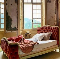 Chateau de Gudanes | Chateau-Verdun, France | @interiors_27 Chateau De Gudanes, Ireland Homes, Breakfast In Bed, Dream Bedroom, Interior Styling, French Country, Couch, Furniture, Instagram