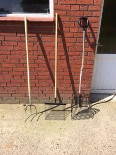 Heugabel - Spänegabel - Forke - Bollengabel Gabel, Garden Tools, Hay, Yard Tools