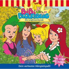 Hörbuch: Bibi Blocksberg 89: Die Junghexenbande  Von Nelly Sand, Audiobooki w języku niemieckim