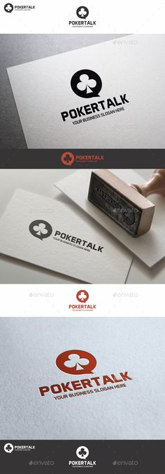 Poker Talk Logo – Excellent logo in vector format for poker forum, online poker games, online poker website, betting websites, poker chat, poker support, poker service, for poker expert ; highly suitable for Casino, Card, Game, Website and many other businesses  You can easily change the text. You can freely experiment with color. You can easily place this logo on your business card and printing – it's ready to print. You can easily place it on web page.