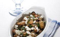 Μύδια σκορδάτα με φέτα Eat Greek, Greek Beauty, Potato Salad, Food Porn, Potatoes, Chicken, Meat, Ethnic Recipes, Link