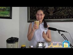 ECA29 | Batido para aumentar Masa Muscular | En casa con Amelia - YouTube Smoothie Recipes, Smoothies, Natural Remedies, Health And Beauty, Amelia, Risotto, Youtube, Home, Increase Muscle Mass