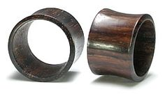 RAINTREE Wood Tunnel Natural Ear Jewelry 6g up to 2inches - Price Per 1 :: Plugs Body Jewelry :: Painful Pleasures, Inc.