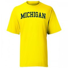 UM 'Arched Block' Maize Tee (A1T)