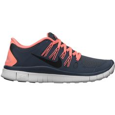 Nike Free 5.0+ Women's Running Shoe (315 BRL) ❤ liked on Polyvore featuring shoes, athletic shoes, sneakers, nike, sports, tennis shoes, athletic running shoes, sports shoes, nike footwear and mesh running shoes